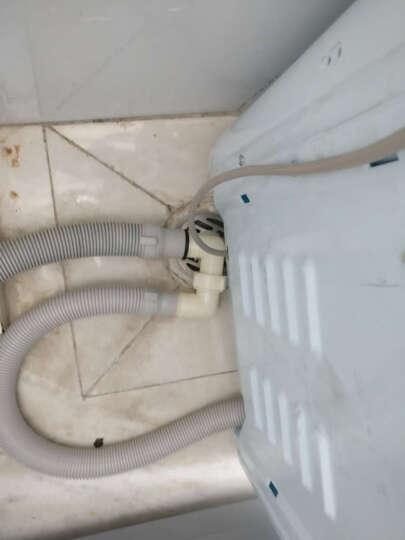 潜水艇洗衣机地漏直通三通排水管双转接头接口弯管弯头斜通 双接头 晒单图