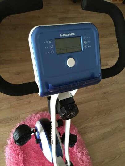 海德(HEAD)健身车家庭专用超静音家用磁控室内脚踏减肥自行动感单车 宝石蓝 晒单图
