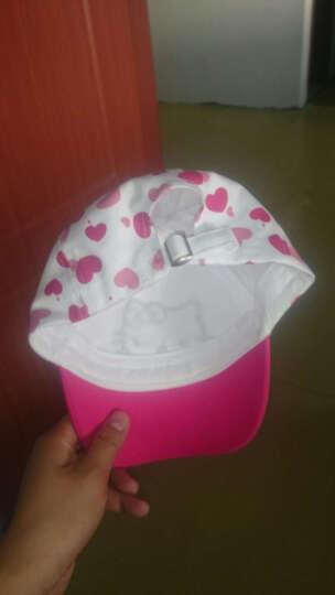 凯蒂猫(HELLO KITTY)女童帽子春夏公主遮阳帽儿童棒球帽 KT4059 玫/白 50cm 晒单图