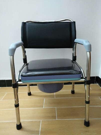 合佳(hejia)坐便椅 洗澡椅 老人孕妇残疾人坐便器马桶厕椅 新型可折叠坐便椅 晒单图