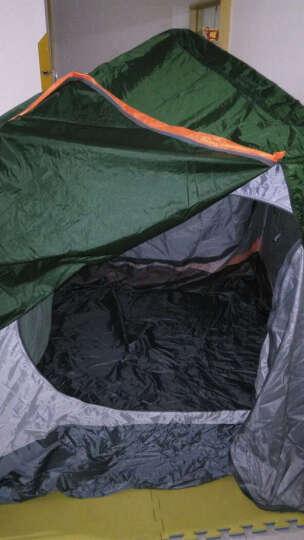 北极狼(BeiJiLang) 户外3-4-6人户外帐篷套装多人双层野营公园全自动露营大帐篷 091-2小号钢管 晒单图