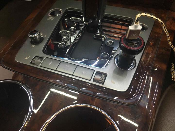 慕臣 车载充电器 点烟器式 车用充电器一拖二 汽车手机快速充电器 金属车充-mini(中国红) 晒单图