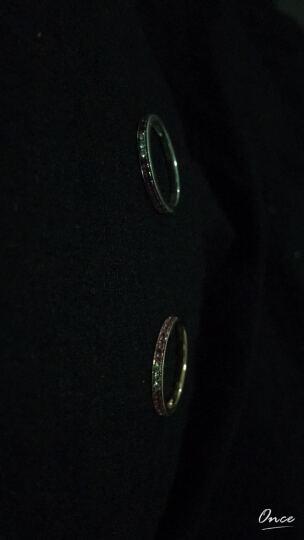 周生生点睛品 18K金戒指红色黄金Rainbow 粉红色蓝宝石戒指女款 87880RPS 11圈 晒单图
