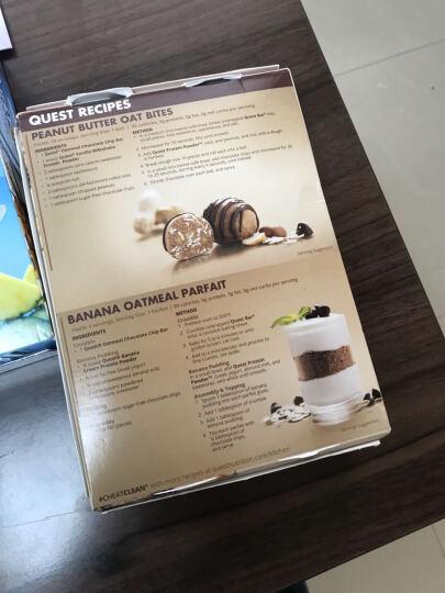 Quest美国进口乳清蛋白棒低脂肪低热量低糖低碳水健身运动补剂营养代餐零食蛋白质60g/条 草莓芝士蛋糕味 晒单图