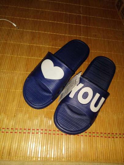 GGGLU亲子拖鞋一家三口拖鞋男童防滑洗澡凉拖鞋女童款1702C玫红色33码 晒单图