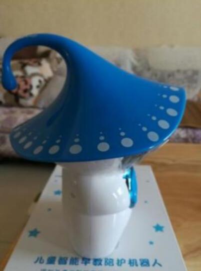 中沃 儿童智能机器人早教故事机语音对话益智玩具陪伴互动学习教育机器人 蓝白色(送16G内存卡+学习资料包) 晒单图