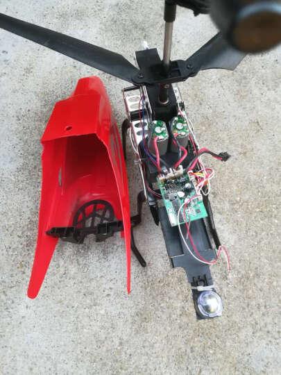 歪猴(wawho) 遥控飞机 无人机85cm大型耐摔直升机3.5通合金航模飞行器遥控玩具 旗舰85cm火烈红(全身灯光)+豪华配件包 晒单图