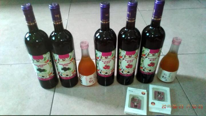 御天纤盈桑葚酒桑果酒750ml葡萄酒甜红酒洋酒女士低度水果味一瓶单支1瓶13度 晒单图
