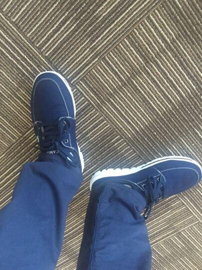 PRADA 普拉达 男士黑色牛皮商务平底休闲鞋正装皮鞋 2DD131 MGV F0002 7.5/41.5码 晒单图