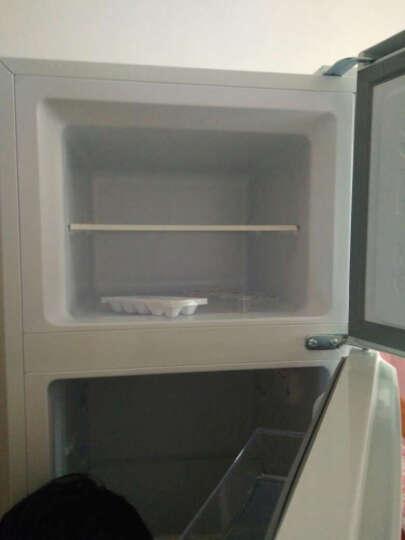 TCL 小型双门冰箱 一体成型 金属面板BCD-118KF1 118升 (闪白银)不可用 晒单图