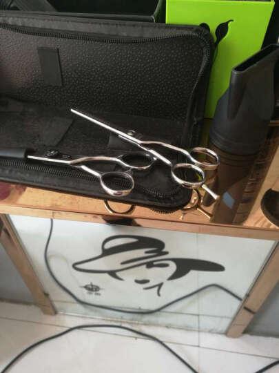 黄小三(HXS) 牙剪A型剪 发型师专业美发剪刀打薄碎发不锈钢日立钢440C 理发剪子 5.5寸牙剪SA-521 晒单图