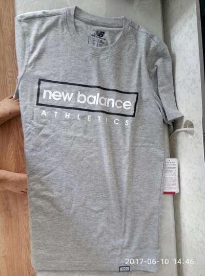 New Balance NB  男  圆领短袖上衣T恤运动休闲服 AG M 晒单图