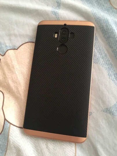 iClever 华为mate9手机壳保护套 mate9硅胶套软壳 二合一防摔外壳大黄蜂系列 金色 晒单图