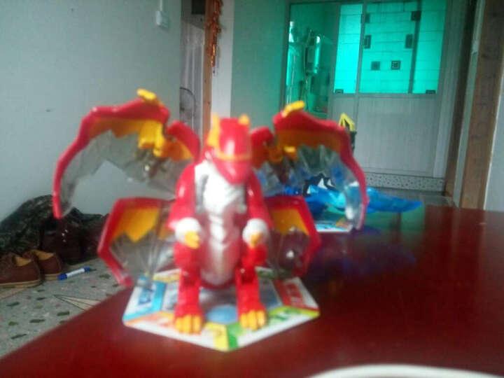 灵动创想(LDCX) 灵动创想爆兽猎人爆丸自动变形蛋对战出阵爆变套装儿童玩具 潜影蝙蝠(出阵套装) 晒单图