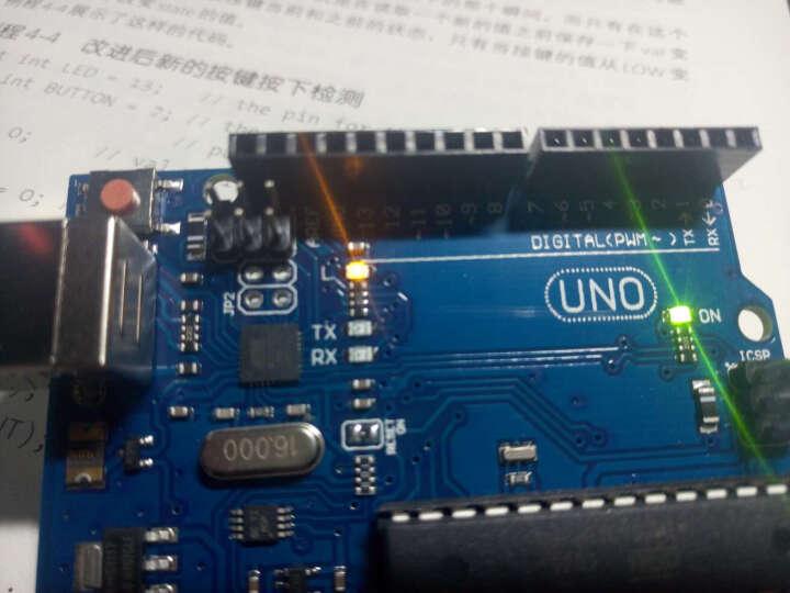 酷道(MiRoad) arduino uno r3入门套件 适用于arduino开发板AVR学习套件 UNO R3单片机K68加面包板亚克力底座 晒单图