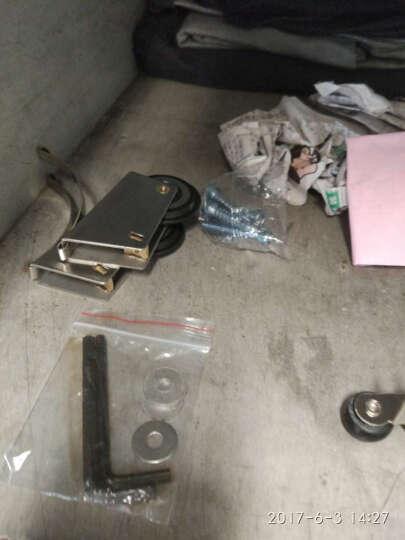 迪福德(DforD)2套装 衣柜滑轮凸轮不锈钢浴室移门轱辘钛合金隔断推拉门滚轮子 凸轮 晒单图
