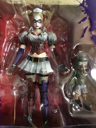 SQUARE/史克威尔 正版PA改 正义联盟海王蝙蝠侠超人手办摆件模型玩具 生日礼物 创意礼品 双面人蝙蝠侠 晒单图