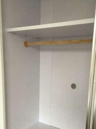 欧尚杰(oushangjie)衣柜 现代卧室双门推拉大衣橱 1.6米衣柜+转角柜 晒单图