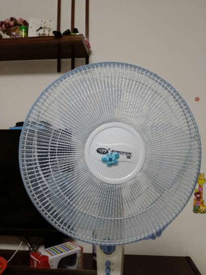 电风扇安全罩 防护保护网罩防儿童小孩夹手落地式全包电扇套防夹手 蓝色 30-35cm 晒单图