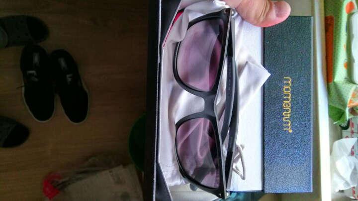 莫曼顿(momentum) Momentum莫曼顿多色TAC宝丽来偏光片时尚设计眼镜装备 MD078珠光茶 晒单图