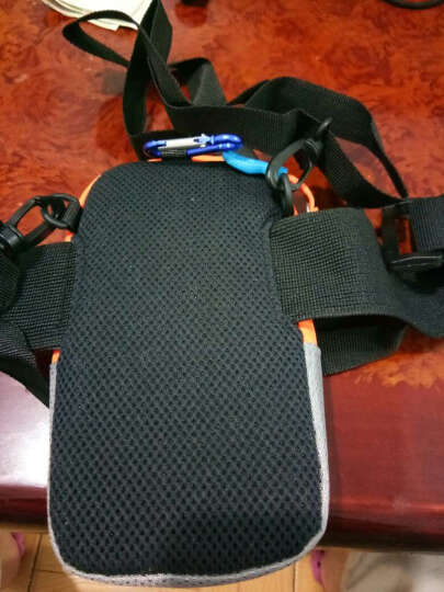 美斯捷 手机臂包跑步男式女士5.5英寸臂套袋手臂包手腕 vivo y67/x5/y66/Xplay5-银色 晒单图