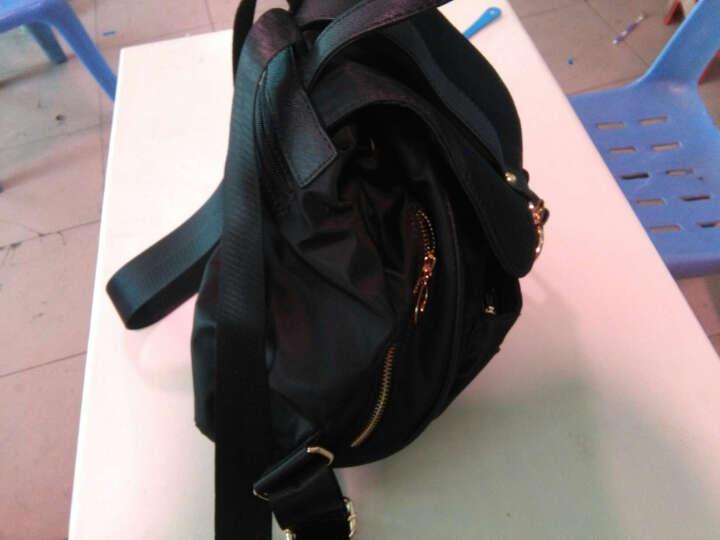 GOLF双肩包女新款时尚防水锦纶女士新品背包女新款多功能耐磨女包 卡其色 晒单图