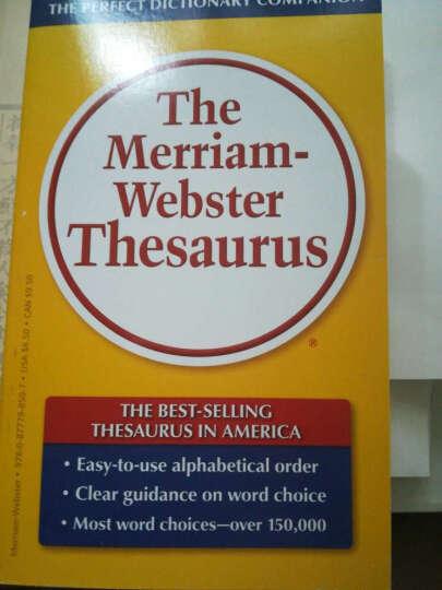 The Merriam-Webster Thesaurus韦氏同义词词典 英文原版 晒单图