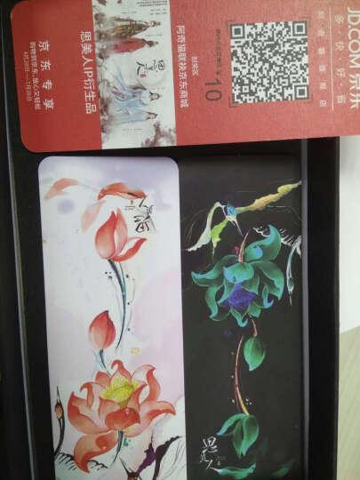 【京东配送】阿奇猫iPhone苹果8/7plus防摔手机壳创意卡通保护套轻薄全包硅胶男女 4.7英寸鹤恋荷-皎白 晒单图