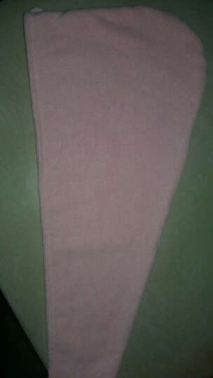 洁丽雅Grace  快速吸水干发帽 加长 加厚型 神奇干发毛巾 更吸水 2条装 红色2条装 干发帽 晒单图