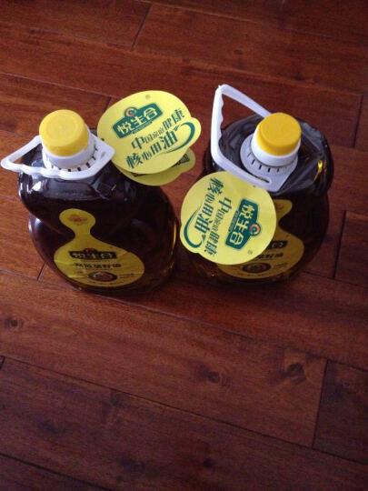 悦生合非转基因双低小榨绵香菜籽油5L*2桶共10L 低温冷压榨菜油农家自榨风味  晒单图