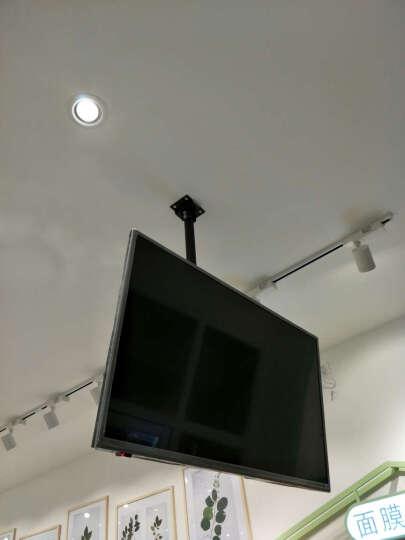 威视朗27-70英寸重载升降电视吊架挂架天花板液晶显示器吊顶支架海信TCL小米4A/4S伸缩吊装壁挂 银色317MT(49-65寸)孔距600x400 +延长管(可增长至3米) 晒单图