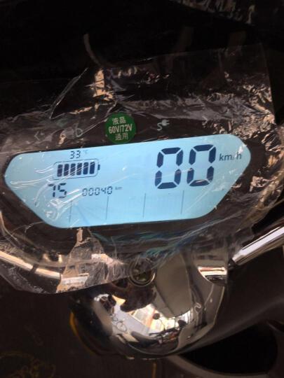 欧峰 出口豪华款加长版男士女士小龟王电动车踏板车小型电瓶车自行车电动摩托车电摩 光米白 精英版72v品牌铅酸电池 晒单图