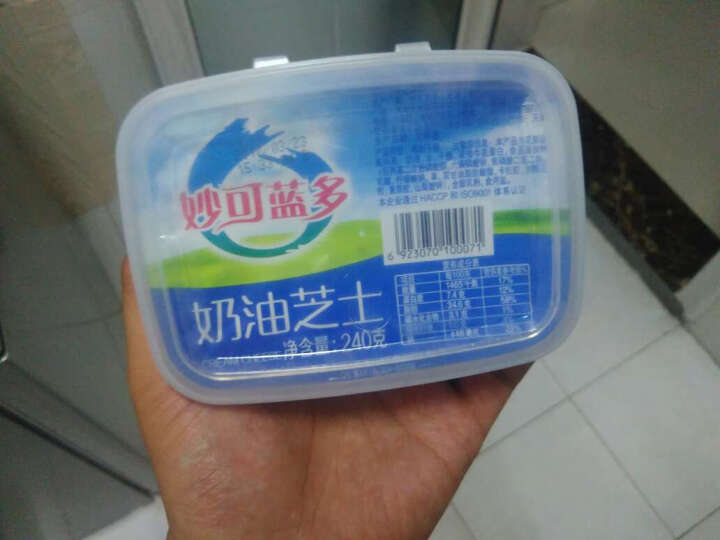 妙可蓝多 奶油芝士 轻乳酪蛋糕 奶油奶酪 起司cheese 烘焙原料240g 晒单图