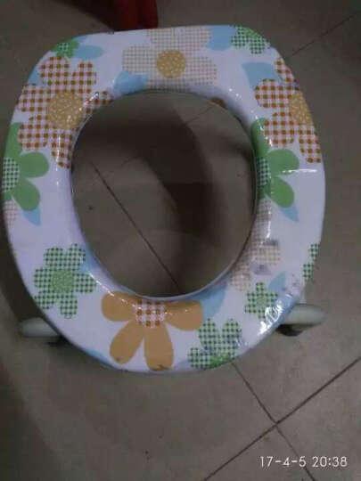长寿泉 坐便凳老人坐便椅孕妇坐便器可移动马桶座便椅坐厕椅 折叠靠背型D314(送便桶) 晒单图