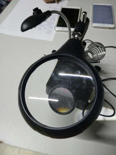 拜斯特(BAISITE)放大镜维修用LED灯10倍焊台桌面高清维修电子电路BST-MG16129-c 晒单图