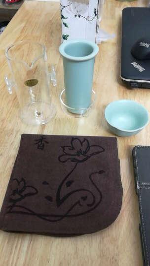 汝瓷茶壶汝窑西施壶功夫茶具泡普洱可养开片手工陶瓷器茶艺壶杯子 月白巧把壶150ML 晒单图