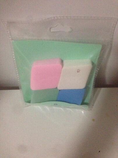 娜芝诺(NASEENO)亲水性美颜粉扑 菱形粉扑 4个装(颜色随机) 晒单图