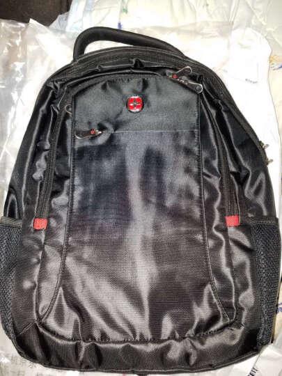 CROSSGEAR双肩背包 14/15.6英寸男商务笔记本电脑包 大容量旅行包学生书包 CR-9002黑色 晒单图