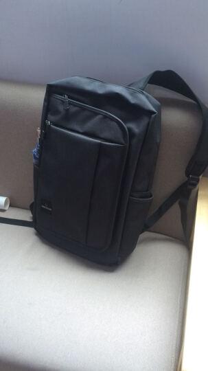 SWISSGEAR电脑包 男双肩背包15.6英寸笔记本包商务旅行休闲学生大容量书包SA-9951 黑色 晒单图