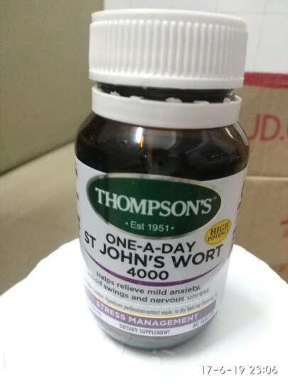 【临期18年6月底】汤普森Thompson's圣约翰草片60粒 助眠安神缓解忧郁抑郁焦虑 晒单图