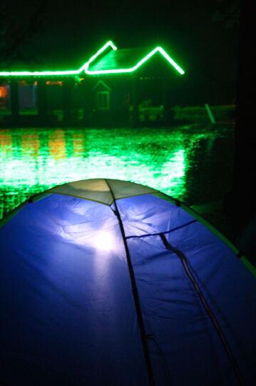 悠乐朋(Ulecamp)帐篷户外  双人防风防雨休闲帐篷 铝膜垫 2人款 晒单图