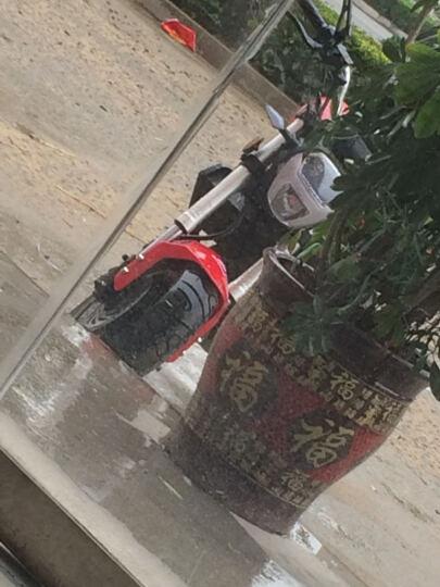 银钢150/200CC跑车街车迷你摩托车全新怪兽特技车趴赛车YG150-23 公安白 晒单图