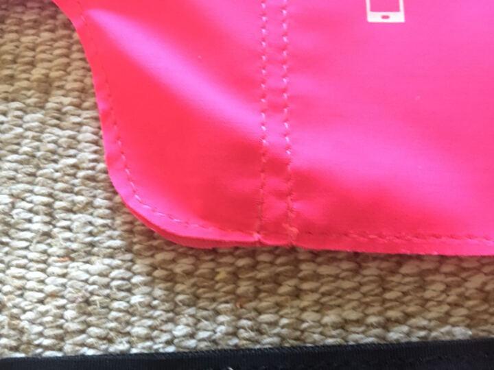 加加林 跑步腰包 贴身运动登山骑行腰包 手机包袋贴身隐形钥匙包 玫红色JY-01 晒单图