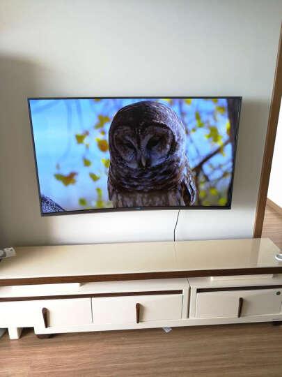 长虹55Q3EU(CHANGHONG) 55英寸曲面4K超高清HDR智能语音网络液晶护眼曲面启客电视 晒单图