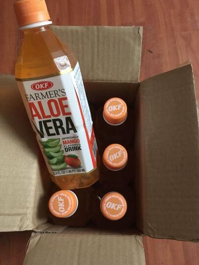 韩国进口 OKF 牧羊人库拉索芦荟果汁饮料 芒果味果味饮料 500ml*6瓶组合装 晒单图