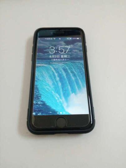优内特 苹果7手机壳iPhone7 plus保护套苹果8硅胶防摔男女款8P全包软壳指环支架 4.7寸--苹果7/8深邃蓝 晒单图