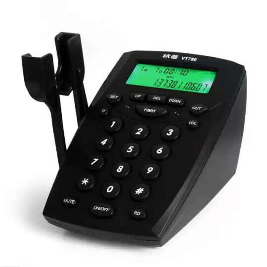 杭普 VT780 呼叫中心电话耳机客服耳麦 呼叫中心 话务员耳机座机外呼电销专用 头戴式降噪话务机 VT780+H500单耳防噪【店长推荐】 晒单图