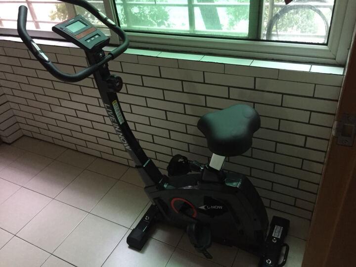 蓝堡动感单车静音家用健身器材室内脚踏车运动磁控车健身车D811 蓝色 晒单图