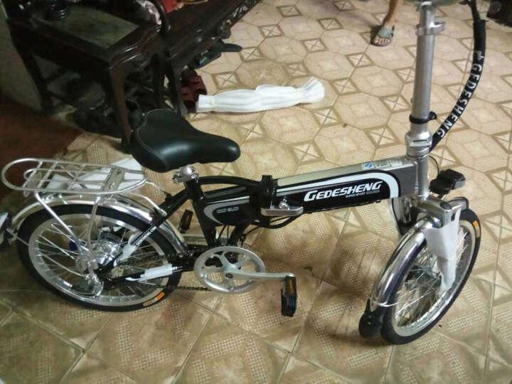 正步(ZB) 折叠电动车自行车16/20寸锂电池电动单车代驾成人助力小型迷你电瓶车 小悠20寸至尊版拍下留言颜色 晒单图