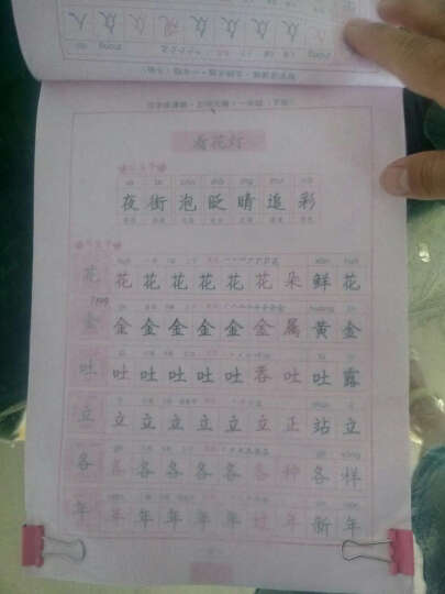 司马彦字帖·写字课课练:一年级下册(北师大版) 晒单图